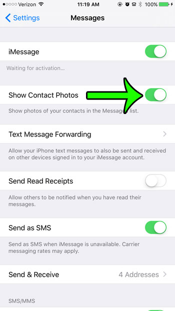 How to Show Contact Photos on the iPhone 6